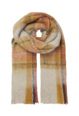 Unmade Lucinde Check Scarf Gold