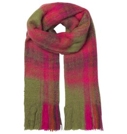 Unmade Lucinde Check Scarf Pink