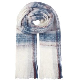 Unmade Lucinde Check Scarf White