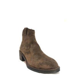 Alpe Anna Low Heel Boot Tan