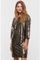Part Two Nalette Sequin Dress
