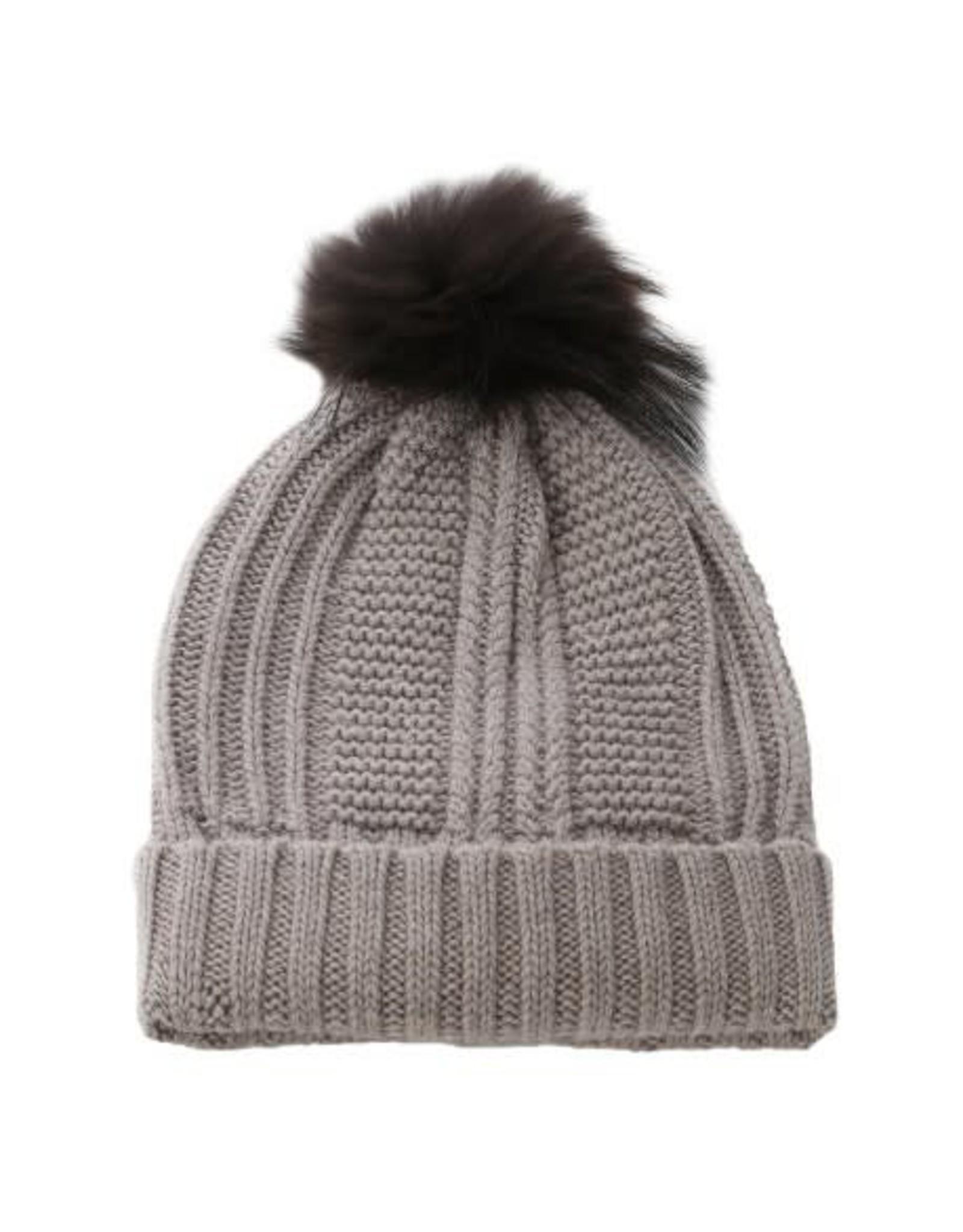 Oakwood Cool Bobble Hat Brown