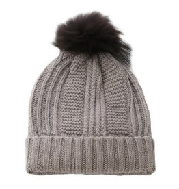 Oakwood Cool Bobble Hat Brown