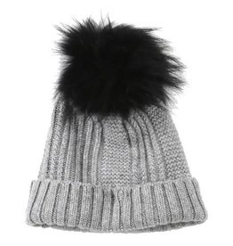 Oakwood Cool Bobble Hat Grey