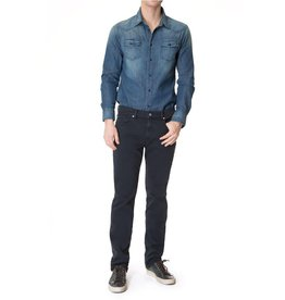 7 For All Mankind Slimmy Lux Rinse Blue