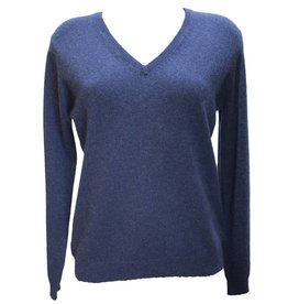 Pavilion Womens Pearl V Neck Navy