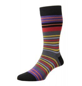 Pantherella Swift Sock Black