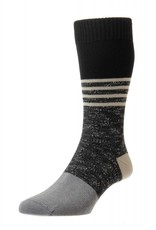 Pantherella Denny Sock Black
