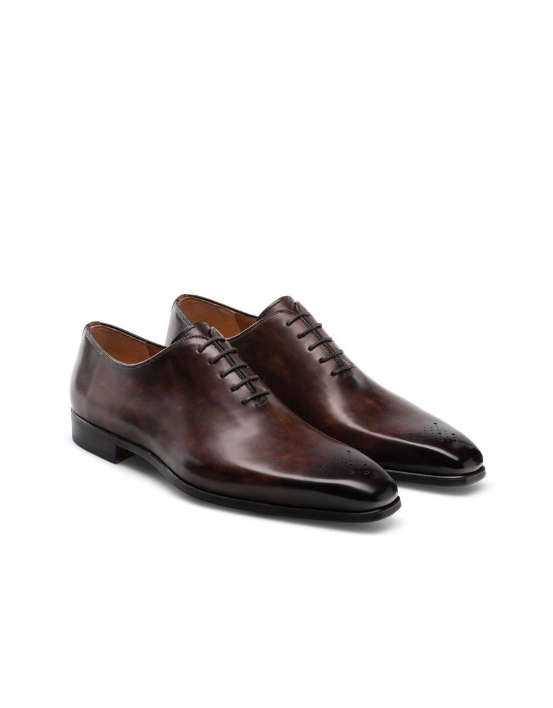 Magnanni Brogue Shoe Tan