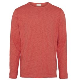 Knowledge Cotton Long Sleeve Top Orange