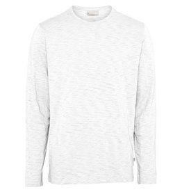 Knowledge Cotton Long Sleeve Top white