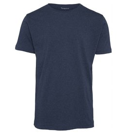 Knowledge Cotton Plain T Blue