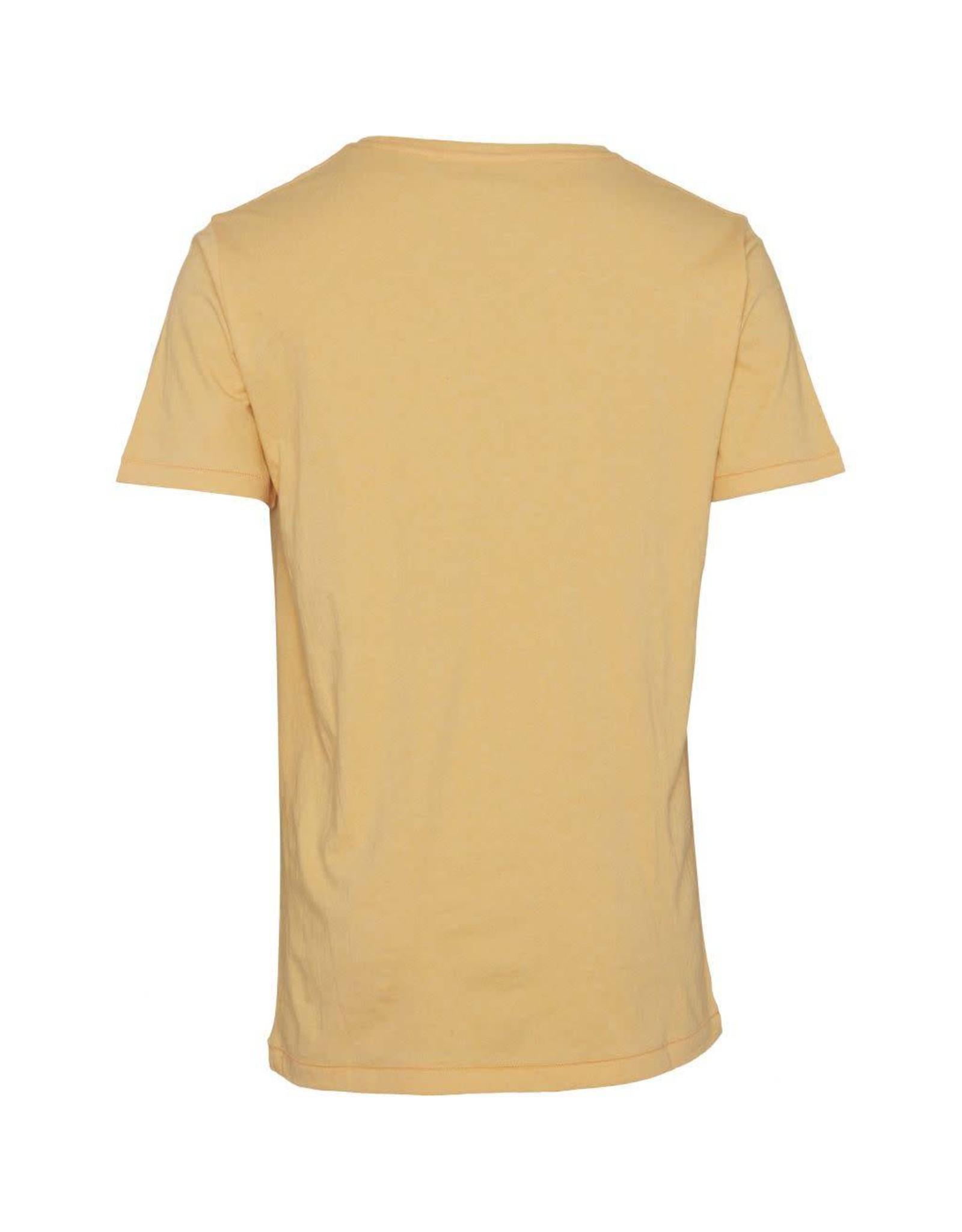 Knowledge Cotton Plain T Yellow