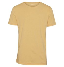 Knowledge Cotton Plain T Yellow