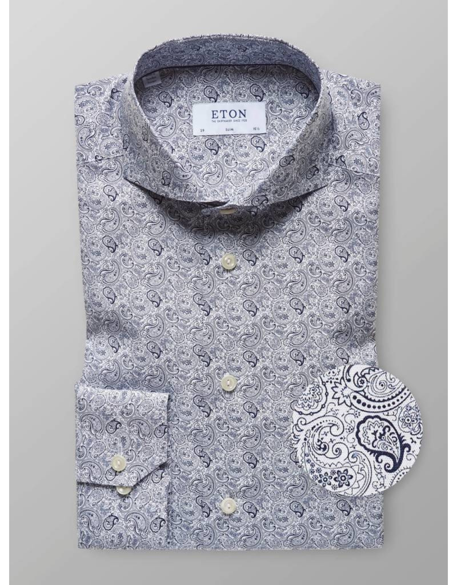 Eton Paisley Shirt