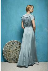 Oky Coky Ruffle Maxi Dress