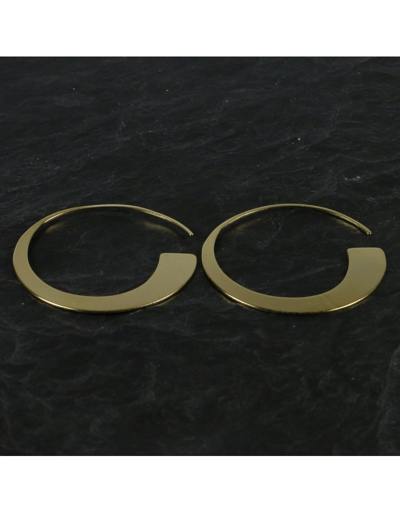 Pure Round Earring