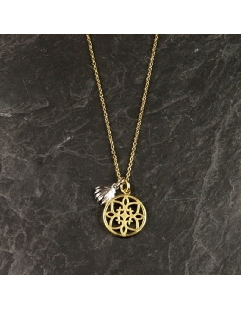 Pure Two Pendant Necklace