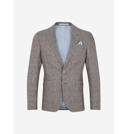 Sand Check Jacket Beige