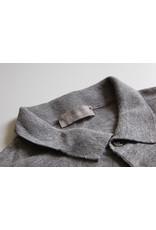 Pavilion Mens Linen Mix Polo Grey