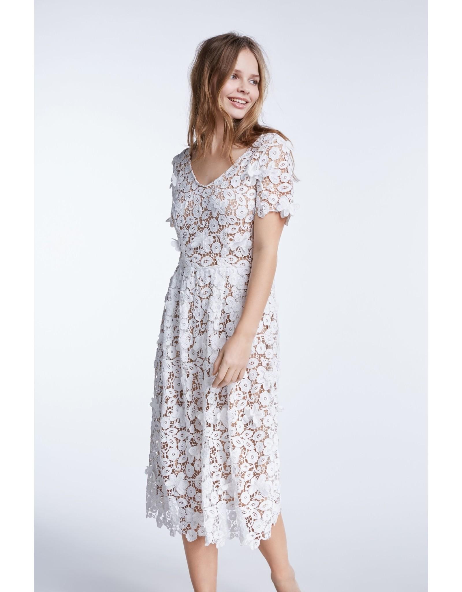 Set Lace Dress White
