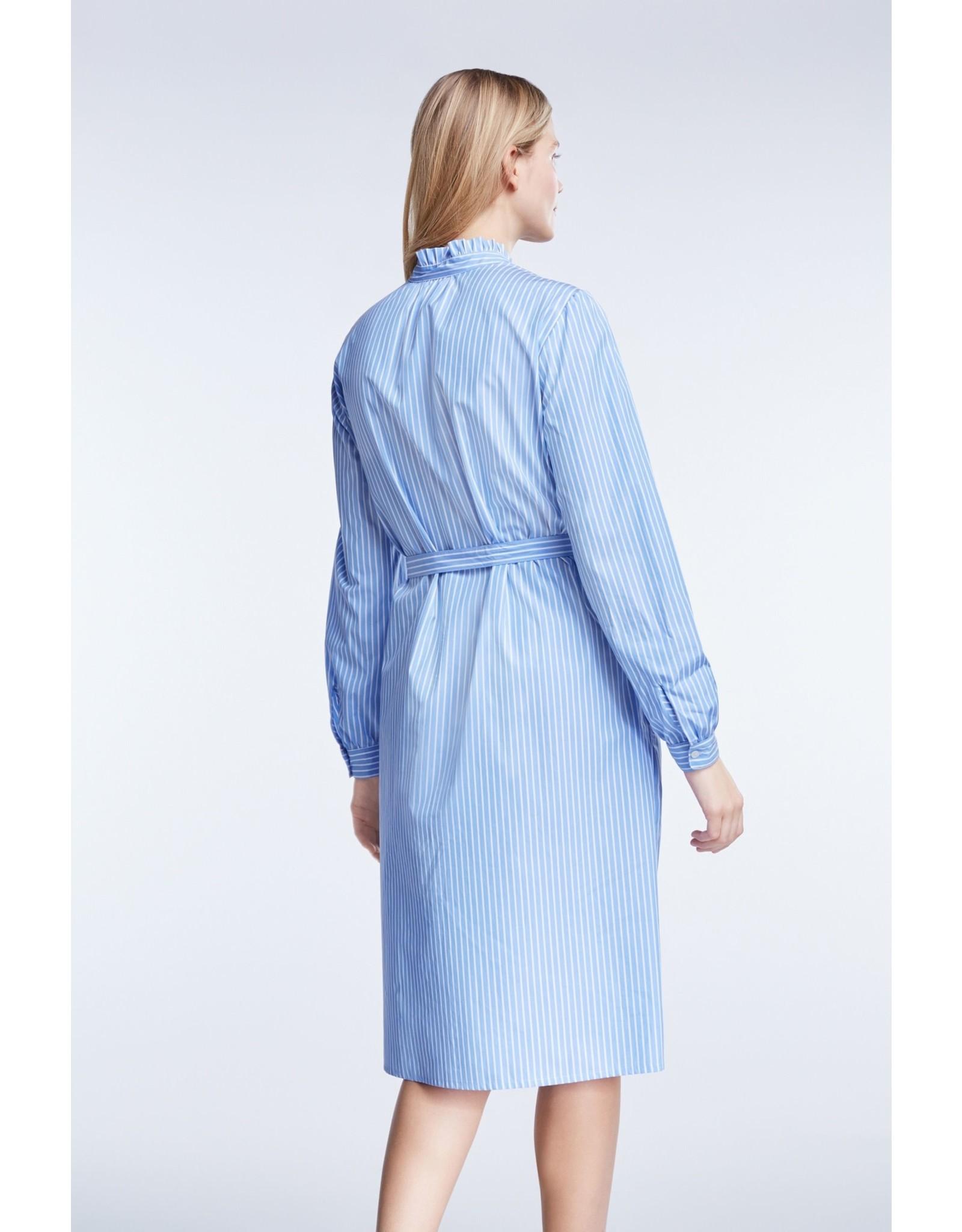 Set Stripe Shirt Dress
