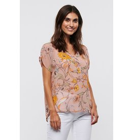 Part Two Helena Print Top
