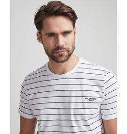 Holebrook Navy Stripe T Shirt