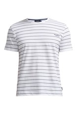 Holebrook Navy Stripe T Shirt