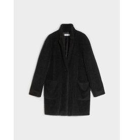 i Blues Mousse Black Coat