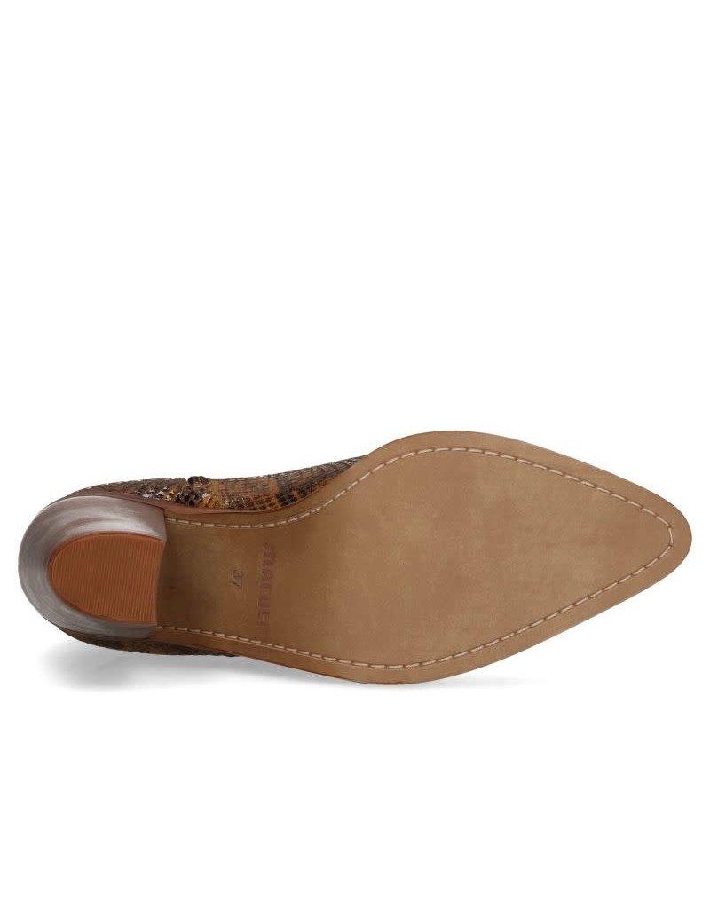 Maruti Roza Snake Ankle Boot