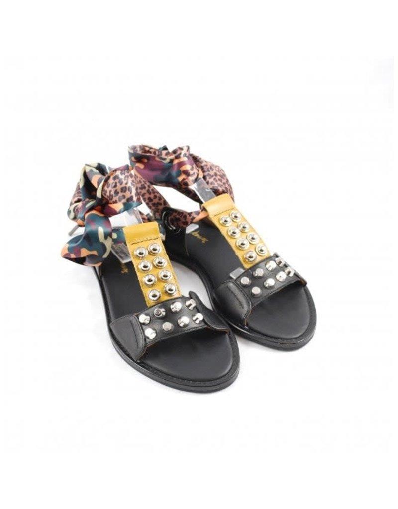 Alpe Scarf Tie Sandal
