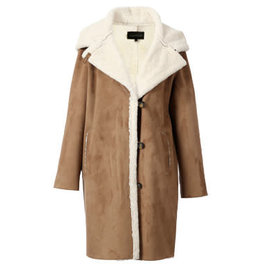 Oakwood Leonie Faux Suede Coat