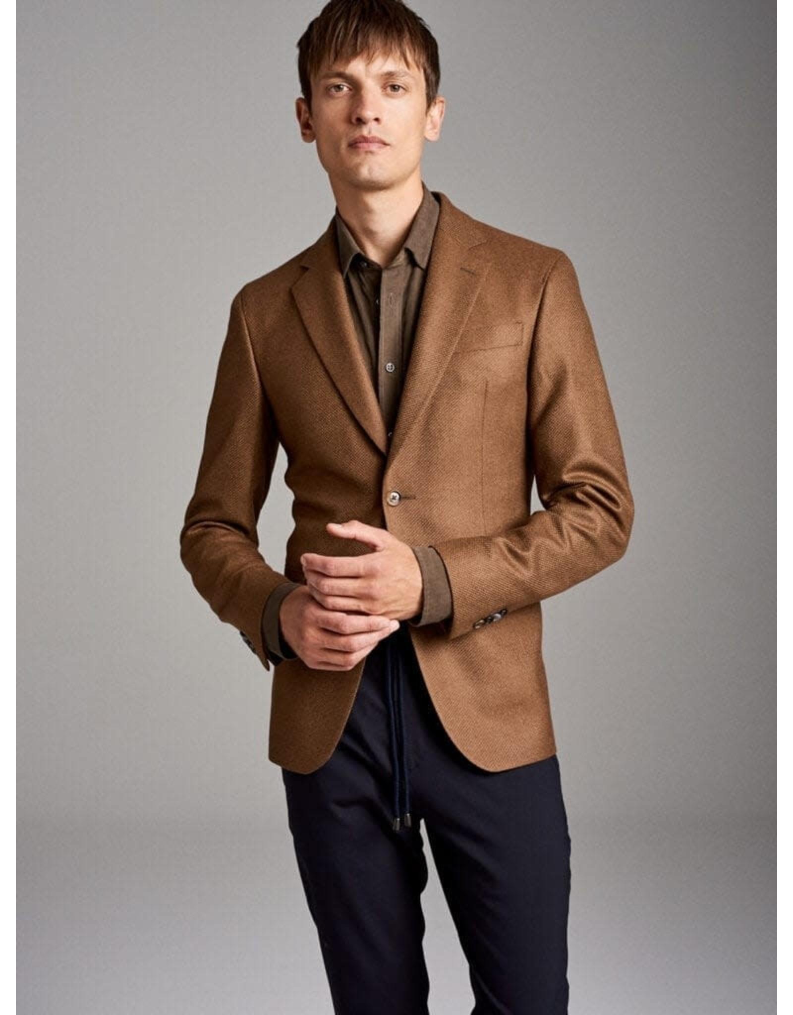 Sand Panama Wool Jacket