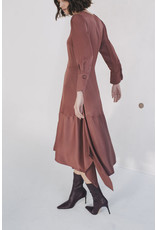 Sita Murt Satin Dress Brown