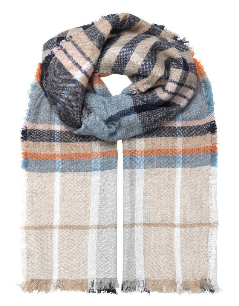 Unmade Dell Scarf White