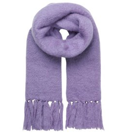 Unmade Amora Fluff Scarf Lilac