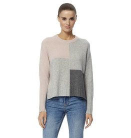 360CASHMERE Hailey Block Jumper