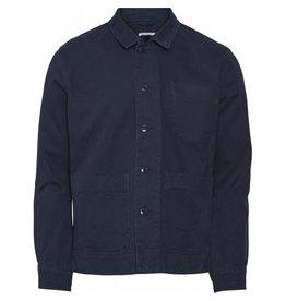 Knowledge Cotton Pine Overshirt
