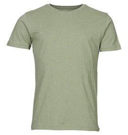 Knowledge Cotton Basic T Shirt Green