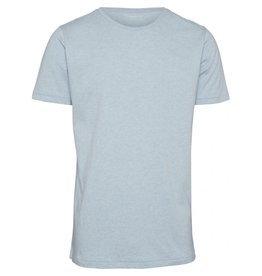 Knowledge Cotton Basic T Shirt Sky