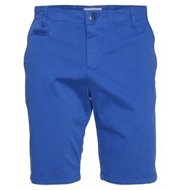 Knowledge Cotton Chino Short Blue