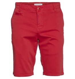 Knowledge Cotton Chino Short Red
