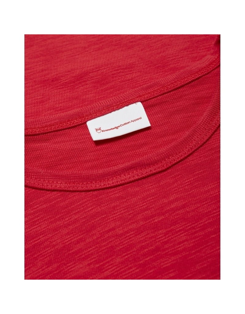 Knowledge Cotton Elm Red Top