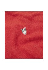 Knowledge Cotton Rowan Red Polo Top
