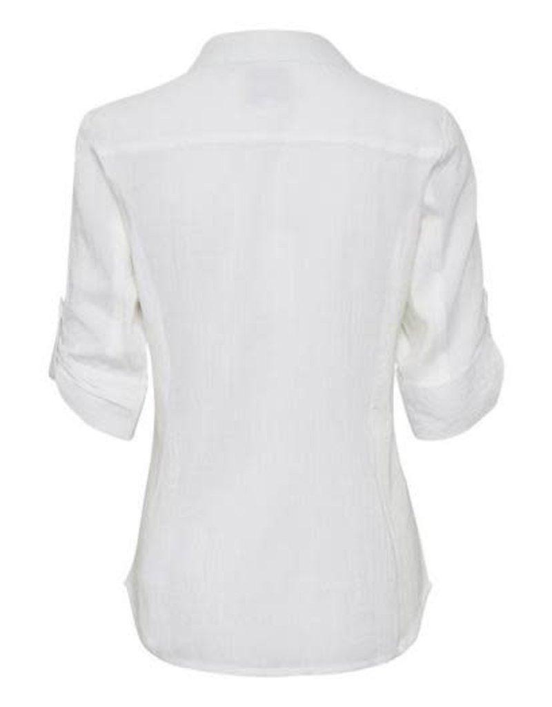 Part Two Cortnia Blouse White