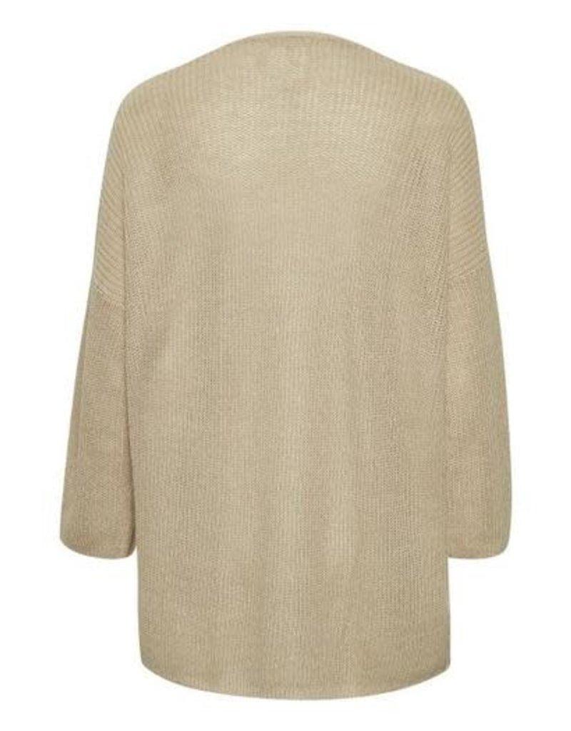 Part Two Caammas Linen Cardigan