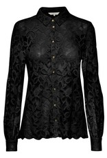 Part Two Vicky Lace Blouse Black