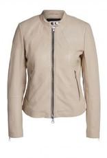 Set Plain Leather Jacket