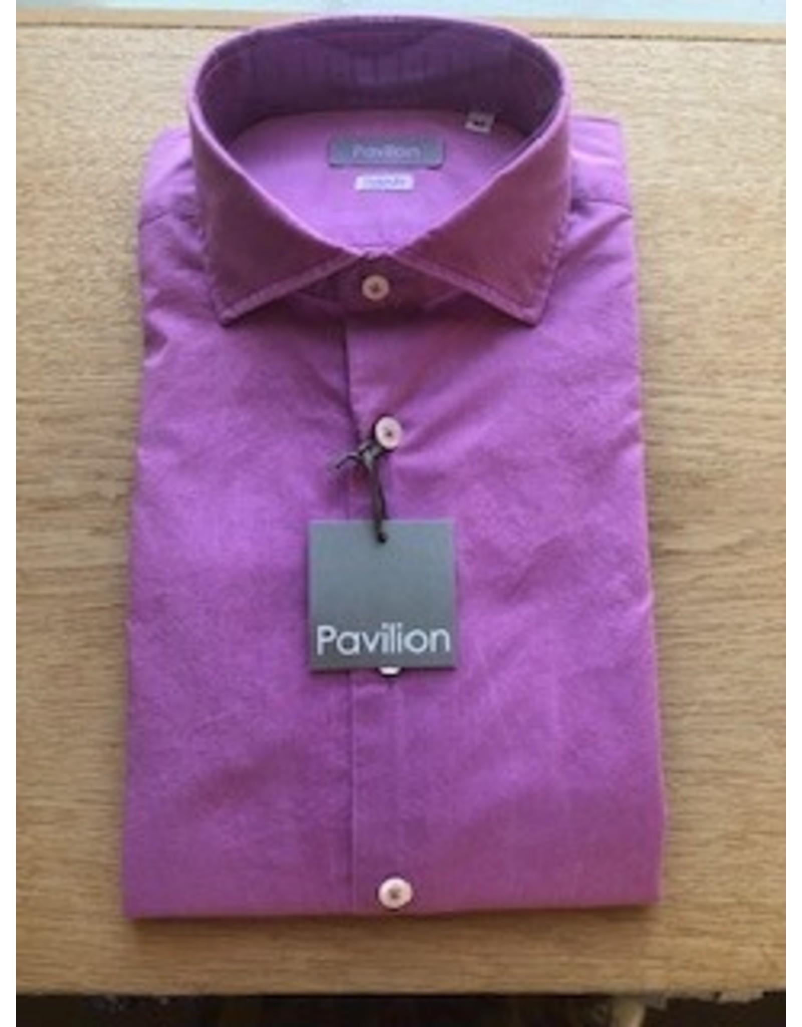 Pavilion Mens Mussola Shirt Purple
